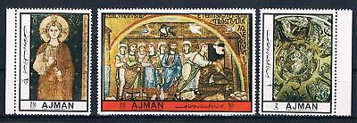Ajman 2410-2412; Gemälde Aus Markusdom Venedig, Satz Kpl. ** Ausgereifte Technologien