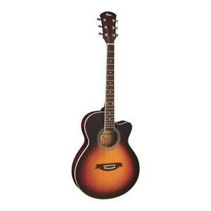Pyle-PGA36-6-String-Acoustic-Guitar-Full-Scale-Sunburst-Style-Preamplifier