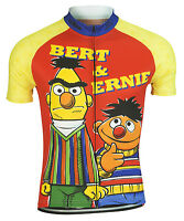 Bert and Ernie Sesame Street Muppets Cycling Jersey Men's Brainstorm Gear New