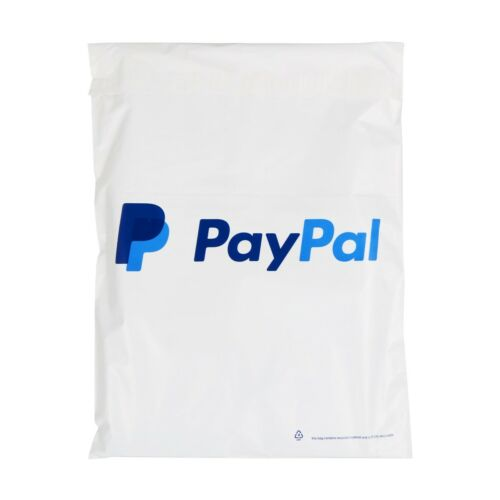 305x405mm 100 X Forte Bianco Paypal mailing borse affrancatura Postale Poly 12x16/""