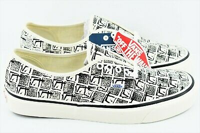 b766be6d Vans Authentic 44 DX Anaheim Factory OG Mens Size 10.5 Skate Shoes White |  eBay