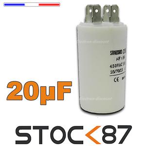 condensateur 20?f 450v