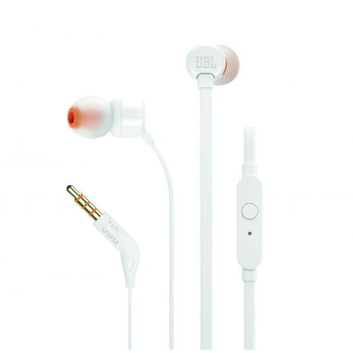 JBL T110 In Ear Headphone - White