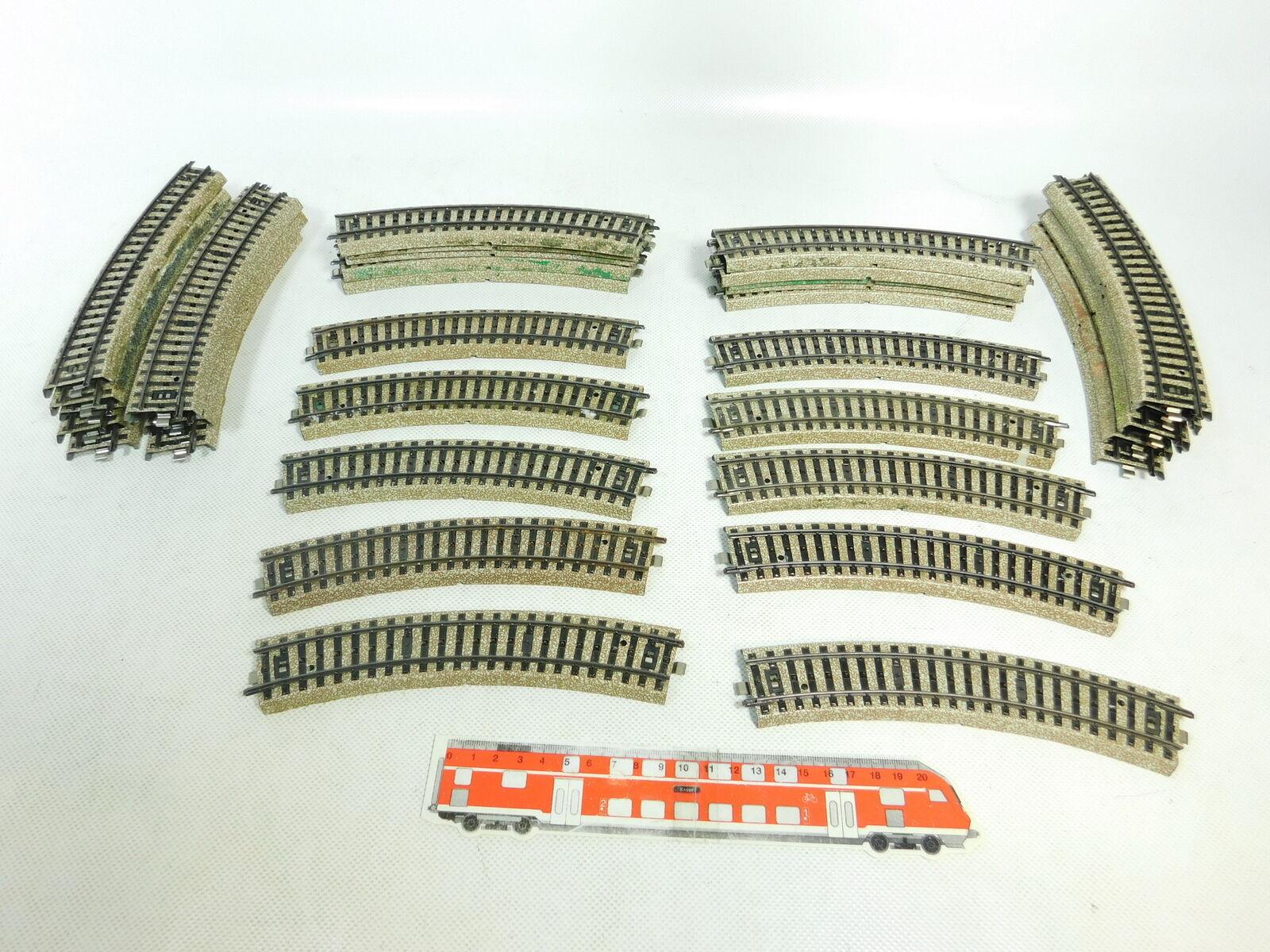 BR575-2 x Märklin H0   Ac 5100 Section de Voie   Rail Courbé VOIE M