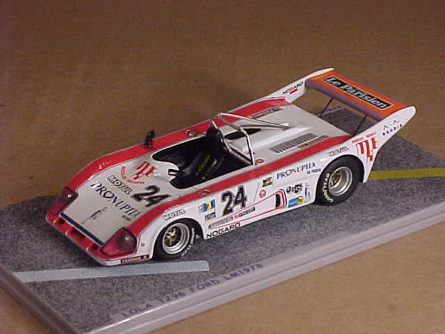 Bizarre  BZ068 1 43 Resin Lola T296 Ford, 1978 LeMans, Pronuptia - Le Parisien