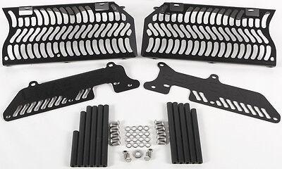 KTM 250 SX-F,250 XCF-W,500 EXC,450 EXC-R,4 Fits BLACK UNABIKER RADIATOR GUARD