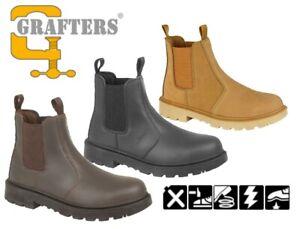 Mens Safety Toe Cap Dealer Work Boots