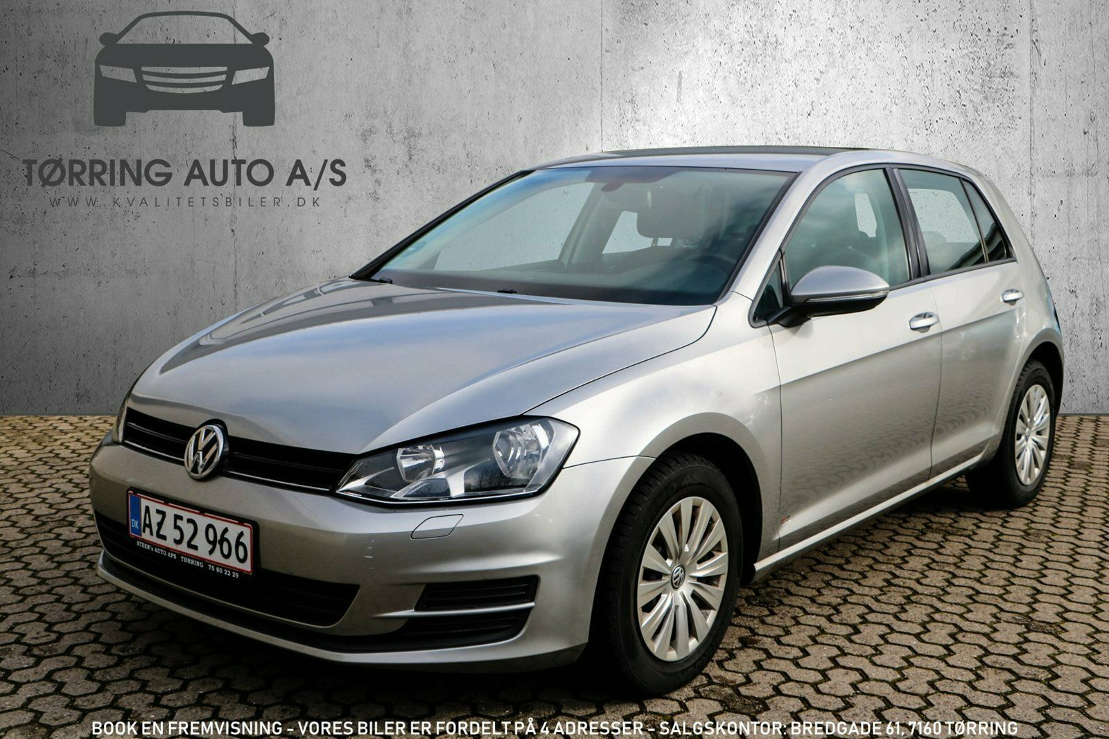VW Golf VI 1,6 TDi 105 BlueMotion 5d - 134.900 kr.