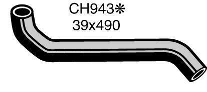 Mackay Radiator Hose (Bottom) CH943
