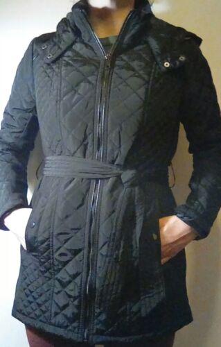 Hætte Coat Sebby Collection Aftagelig Ny Størrelse 719621257990 Quiltet Trench Medium Kvinders UIfwnqn0