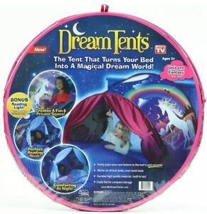 New As Seen On Tv Dream Tents Unicorn Fantasy Twin Size