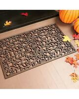 Outdoor Regal Scroll Copper Rubber Stair Treads Door Mat 2 Sizes Sets Singles