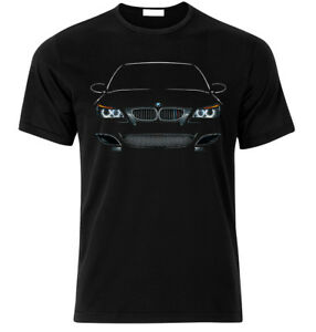 T-Shirt-for-E60-M5-Fan-039-s-Gift-face-headlights-power-sport-size-S-XXL