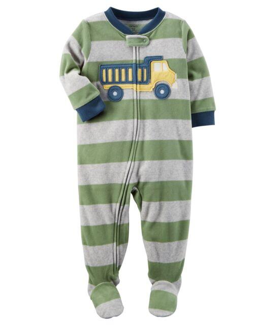 b6797ef8e Carter s Boys  Fleece Footed Pajamas Blanket Sleeper Size 5