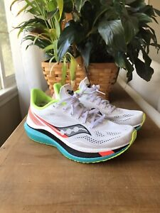 Saucony ENDORPHIN PRO White Mutant Women's Size 9 Running Shoes Worn Once