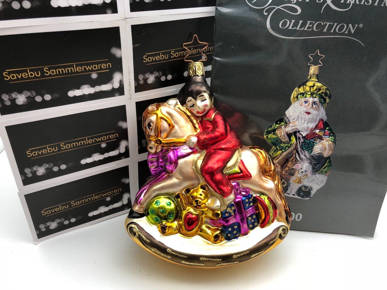 Inge Glas Birgit´s Christmas Collection Benni im im im Weihnachtshimmel 15 cm. Limitie 3ba153