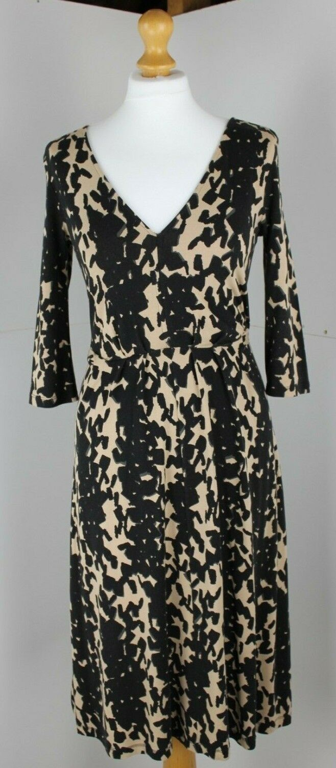 Hobbs Women's Dress Brand New Size 8 Leopard Print Dress