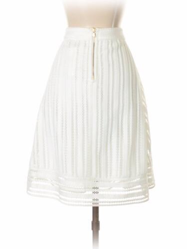 a985b576c48 6 of 7  J CREW  NWT NEW Striped EYELET Skirt White Summer Layered Keyhole  Sz 4  128