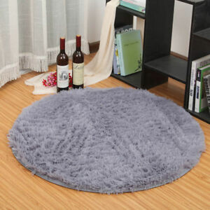 Image Is Loading Fluffy Rugs Anti Skid Shaggy Area Rug Dining