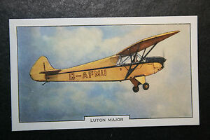Luton Major  Monoplane   Original 1930039s Vintage Card   VGC - Melbourne, Derbyshire, United Kingdom - Returns accepted Most purchases from business sellers are protected by the Consumer Contract Regulations 2013 which give you the right to cancel the purchase within 14 days after the day you receive the item. Find o - Melbourne, Derbyshire, United Kingdom