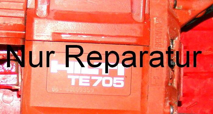 Reparatur Ihrer Hilti TE 704 oder 705 zum Festpreis