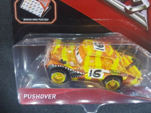 DISNEY PIXAR CARS 3 WITH POSTER PUSHOVER CRAZY 8 DERBY 2017 SAVE 6/% GMC