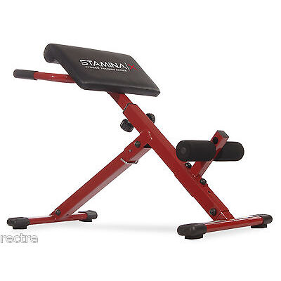 Stamina X HYPER BENCH -Adjustable- Abs Back Hyper-Extension Exercise Roman Chair
