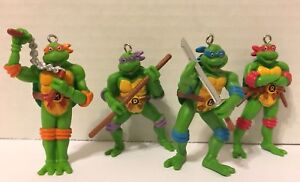 Ninja Turtle Christmas Tree.Details About Teenage Mutant Ninja Turtles Christmas Tree Ornaments 3 New All 4 Or Just 1