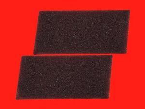 + + 2x materiale espanso-Filtro per BAUKNECHT TK CHAMPION 7 A TK PLATINUM 8 A