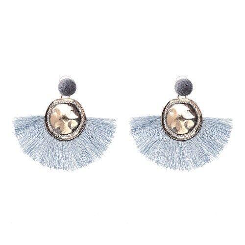 Fashionable Fan Fringe Earrings Tassel Drop Statement fast shipping  AU Seller