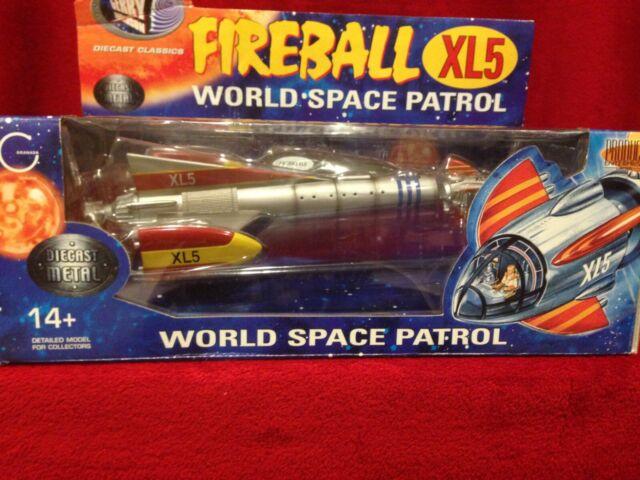 FIREBALL XL5 WORLD SPACE PATROL DIECAST SHIP / BRAND NEW RARE
