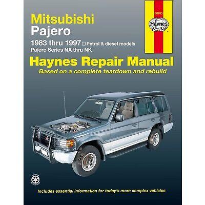 68765 Haynes Mitsubishi Pajero (1983 - 1997) (Australian) Workshop Manual