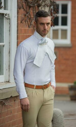 Shires Chasse Chemise en Blanc-Homme