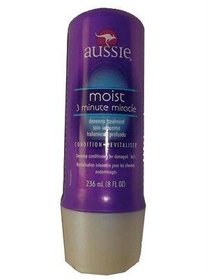 AUSSIE '3-Minute Miracle' Moist Deeeeep Hair Conditioner 236 ml (8fl oz)