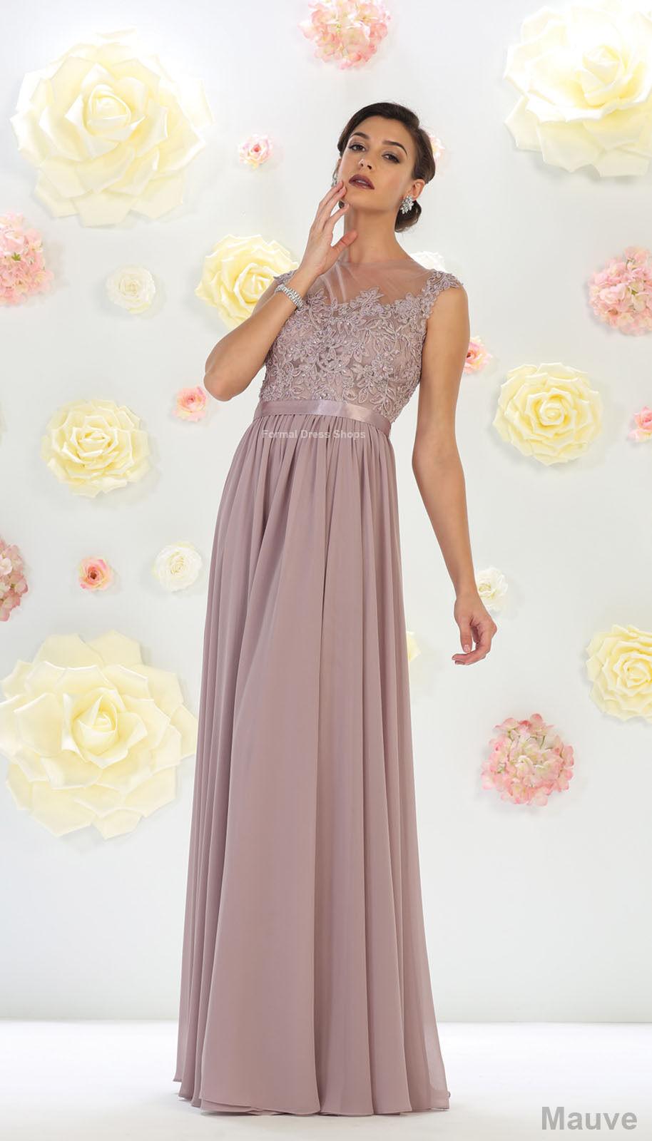 Modern Formal Attire: NEW BRIDESMAIDS EVENING FORMAL PROM FLOWY DRESS MODERN