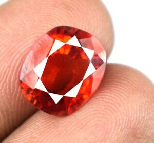 5.75 Ct 100% Natural Padparadscha Orange Sapphire Oval Gemstone Certified A22532
