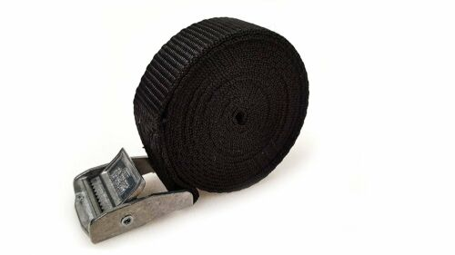 10 Buckled Straps 25mm Cam Buckle 2.5 meters Long Heavy Duty Load Securing