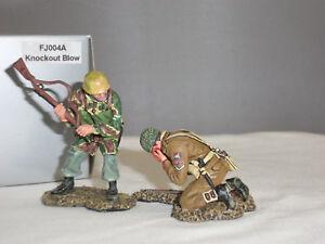 Thomas Gunn Fj004a Ensemble de figurines allemand Knockout Blowout allemand