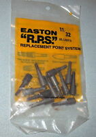 Easton 11/32 Screw-in R.p.s. Blunt Points For Aluminum Arrows-small Game Hunting