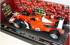 MATTEL M6713 FERRARI F248 diecast F1 car Michael Schumacher GRAZIE SCHUMI 1:18th