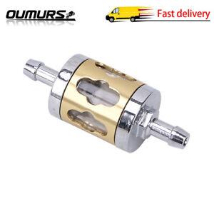 Inline Gas Fuel Filter 6mm-7mm 1/4