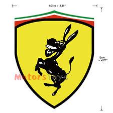 1PC Spoof Style So Funny Farah Donkey High Quality Vinyl Car Sticker Decal
