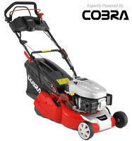 "COBRA RM40SPCE 16"" Electric Start Rear Roller Self Propelled Lawnmower Free Oil"