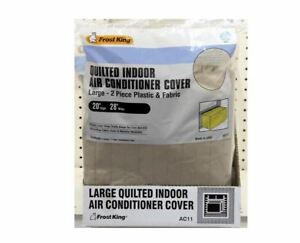 NEW FROST KING AC2H WINDOW AIR CONDITIONER UNIT COVER 18X27X16 POLY SALE 4389524