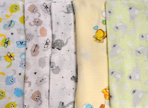 MULLWINDELN 2 3 5 SET Spucktücher Baby Mulltücher Tuch Babytuch Mulltuch Tücher