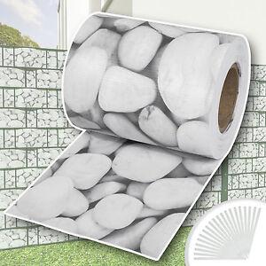 Garden-fence-screening-privacy-shade-70m-roll-panel-cover-mesh-foil-cobblestone
