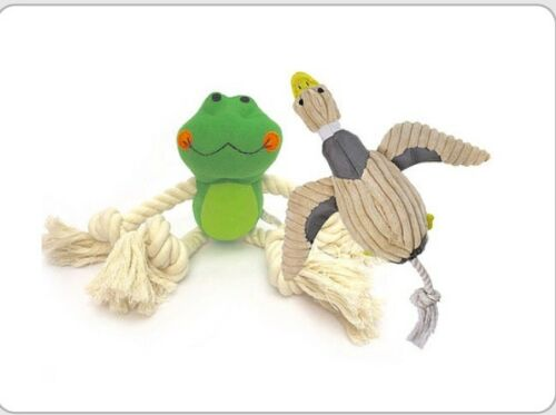 Plush Frog and Duck dog toys BULK BUY STOCK SELL OFF £1.45 Per Unit !!