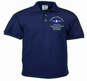 164TH-AIRLIFT-WING-MEMPHIS-IAP-TN-USAF-ANG-EMBROIDERED-LIGHTWEIGHT-POLO-SHIRT