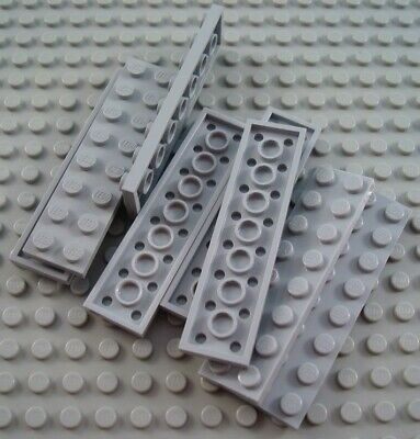 LEGO Lot of 4 White 2x10 Flat Building Plate Pieces