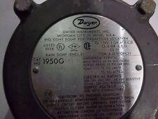 NEW Dwyer cat. # 1950G-00-B-120-NA Pressure Switch DIAPHRAGM VERTICAL (E6-1)